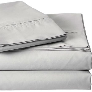 Tribeca Living 100% Percale Egyptian Cotton Sheets
