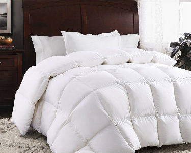 Comparison Chart Icon up of the Rosecose Goose Down Duvet Insert