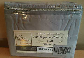 1500 Supreme Collection Extra Soft Luxury Hypoallergenic Bed Sheets