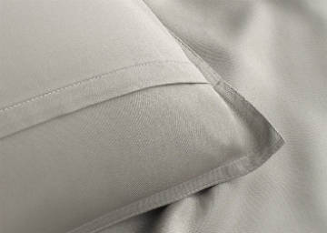Close up of the Soft and Cool Pillow Case Bed Sheets by Pure Bamboo