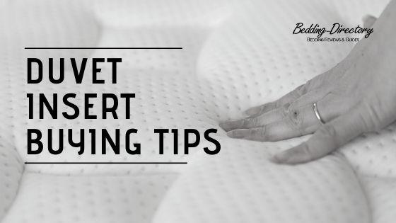 Duvet Insert Buying Tips