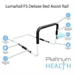 LumaRail Bed Assist Rail Support Bar with LED Nightlight Icon
