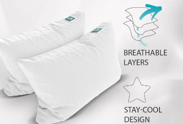 Sleepgram Hypoallergenic Microfiber Pillow