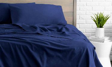 Bare Home Flannel Sheet Set 100% Cotton, Velvety