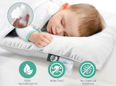 Sable Organic Pillow for Babies and Toddlers