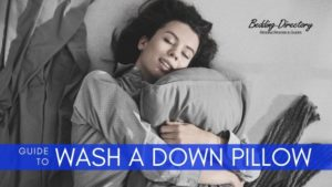 Guide on How to Wash a Down Pillow