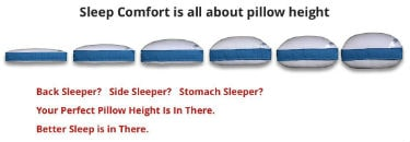 Pancake Pillow for Combination Sleeper