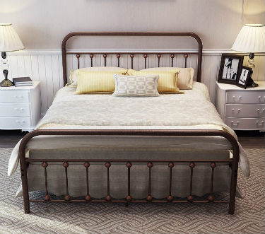 TEMMER Metal Bed Frame