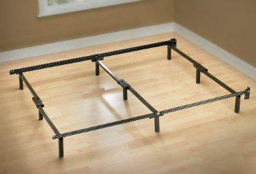 Zinus Michelle 9-Leg Bed Frame for Box Mattress and Box Spring