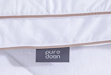 Puredown Natural Goose Down Feather Pillow