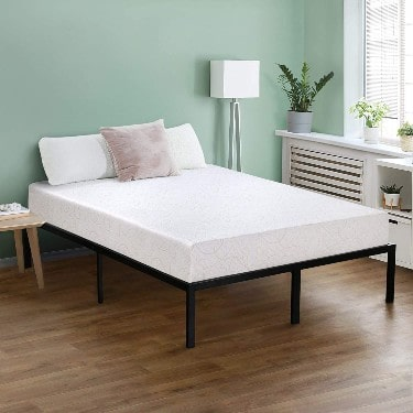 Olee Sleep 7 Inch I-Gel Deluxe Comfort Memory Foam Mattress