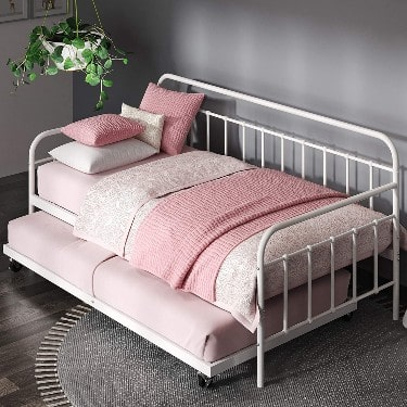 Zinus Florence Twin Daybed and Trundle Frame Set