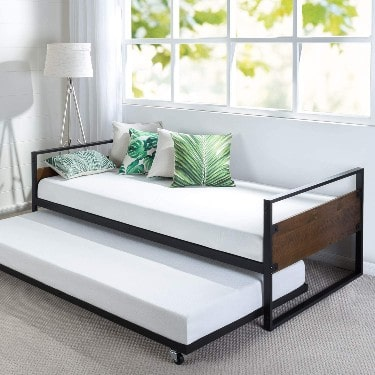 Zinus Suzanne Twin Daybed and Trundle Frame